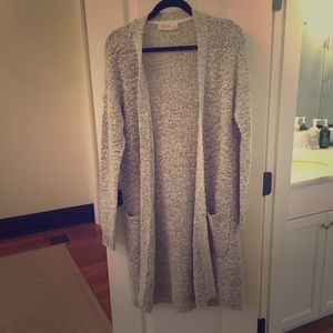Long comfy sweater - never worn